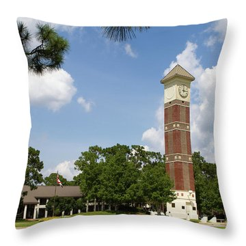 Pensacola State College Throw Pillow