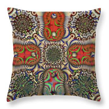 Pent-up-agram Throw Pillow
