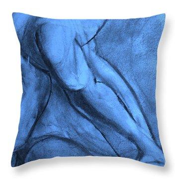 Pentimenti Throw Pillow