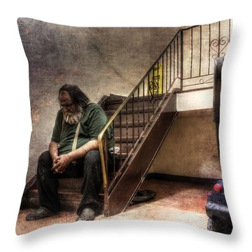 Penury - A Work In Progress Throw Pillow