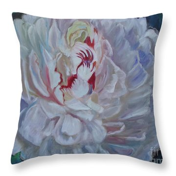 Peony 11 Jenny Lee Discount Throw Pillow