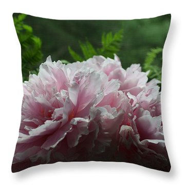 Peony Pleaser Throw Pillow