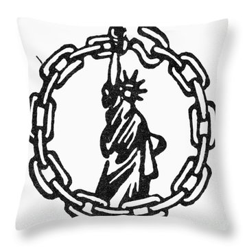Peoples Rights Party Throw Pillow by Granger