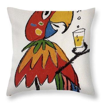 Pepita - Grapefruit Drinks - Vintage Advertising Poster Throw Pillow