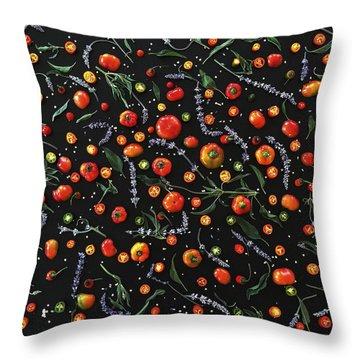 Pepper Pattern Throw Pillow
