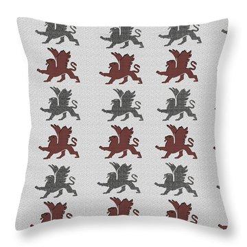 Pepperell Griffin Throw Pillow