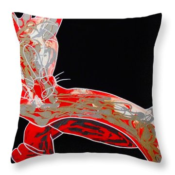 Peppermint Throw Pillow
