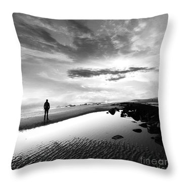Per Sempre Throw Pillow