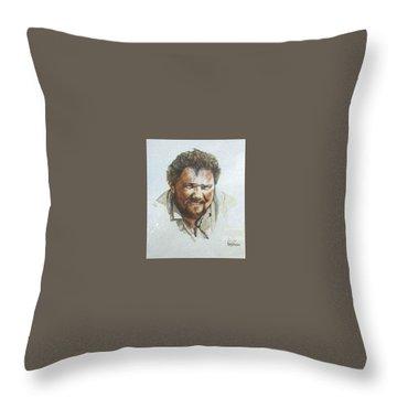 Per Throw Pillow by Tim Johnson
