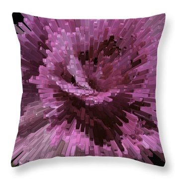 Perception Throw Pillow by Cathy Donohoue