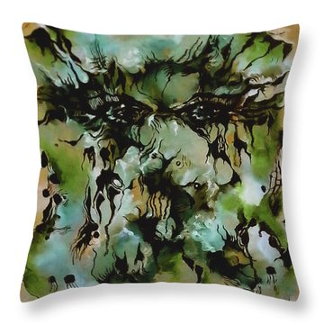 Perceptive Expression Throw Pillow