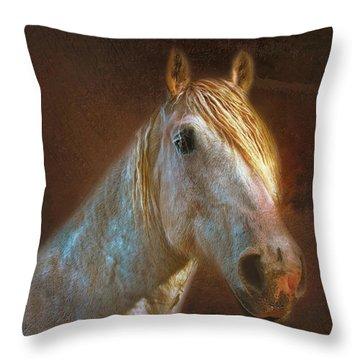 Percheron  Throw Pillow
