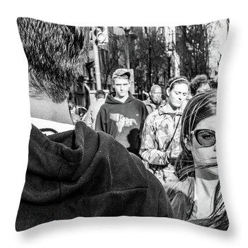 Percolate Throw Pillow