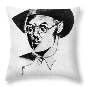Percy Wyndham Lewis Throw Pillow by Granger