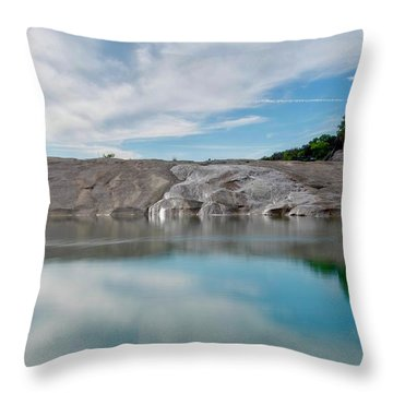 Perdernales Falls II Throw Pillow