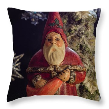Pere Noel Throw Pillow