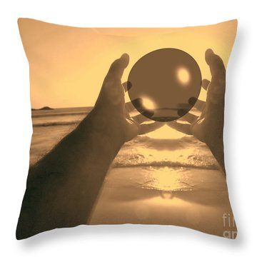 Throw Pillow featuring the photograph Perfect Circle by Beto Machado