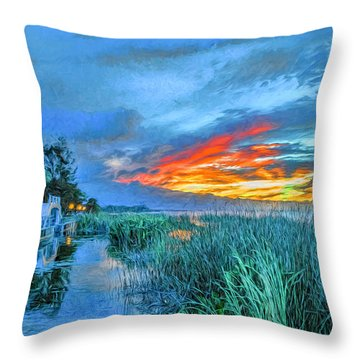 Perfect End Of Day. Throw Pillow