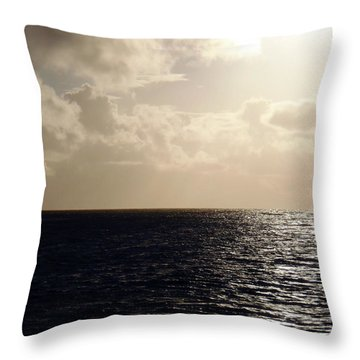 Perfect Ending Throw Pillow by JAMART Photography