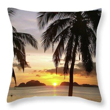 Perfect Evening - Vertical Throw Pillow