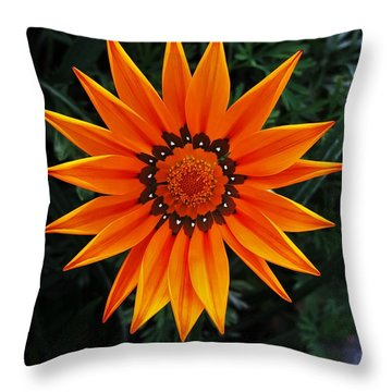 Perfect Flower  Throw Pillow by Jasna Gopic