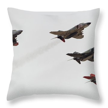 Perfect Formation Throw Pillow
