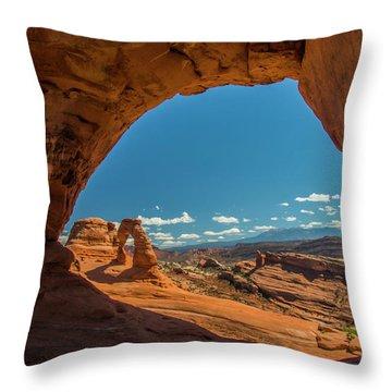 Perfect Frame Throw Pillow