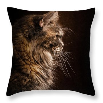 Perfect Profile Throw Pillow
