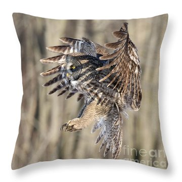 Perfect Shadow  Throw Pillow