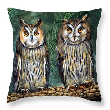 Perfect Strangers Throw Pillow