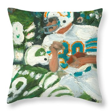 Perfect39 Throw Pillow by Jorge Delara