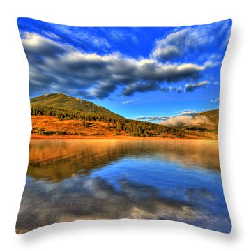 Perfection Throw Pillow by Scott Mahon