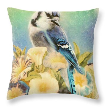 Perfectly Poised Throw Pillow