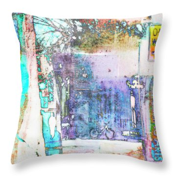 Throw Pillow featuring the photograph Performance Arts by Susan Stone
