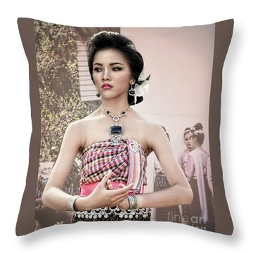 Performance Of Beauty Throw Pillow by Ian Gledhill