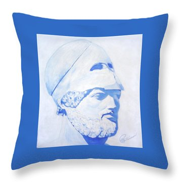 Pericles Throw Pillow