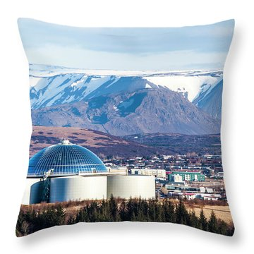 Perlan Throw Pillow by Wade Courtney