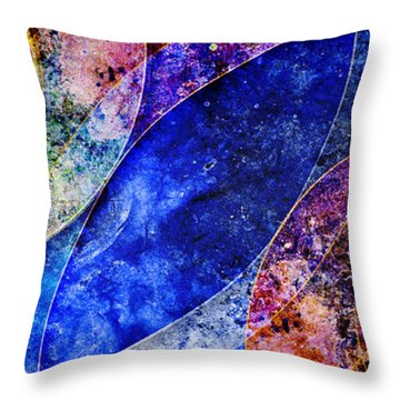 Throw Pillow featuring the digital art Permanent Waves by Kenneth Armand Johnson