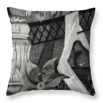 Perpeptual Pinwheel Throw Pillow