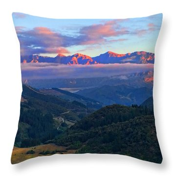 Perrozo Morning Throw Pillow