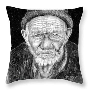 Perserverance Throw Pillow by Enzie Shahmiri