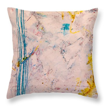 Perserverance Throw Pillow by Gallery Messina