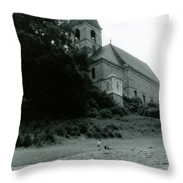 Perseverance  Throw Pillow by Michelle Calkins