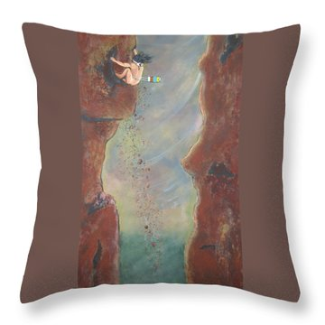 Perseverance Throw Pillow by V Boge