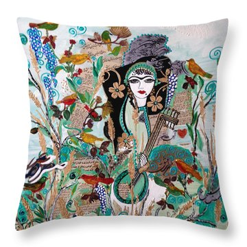 Persian Painting # 2 Throw Pillow