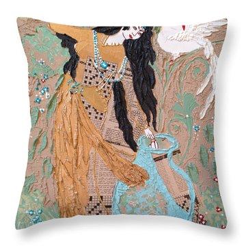 Persian Painting 3d Throw Pillow