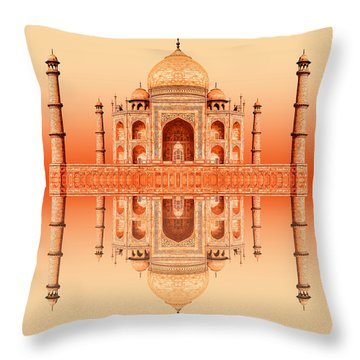 Persian Poem Of Love Throw Pillow