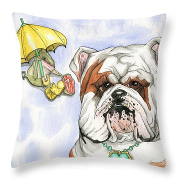 Personal Chef Throw Pillow