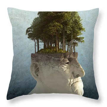 Personal Growth Throw Pillow