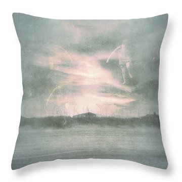 Ghosts And Shadows Vii - Personal Rapture  Throw Pillow